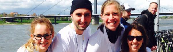 Das Max-Weber-Berufskolleg läuft mit beim Metro-Marathon